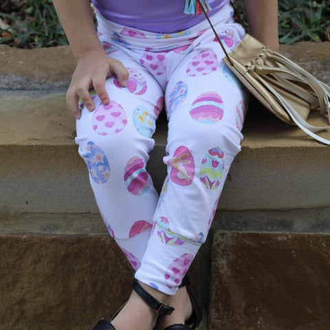 Pastel Easter Egg Leggings