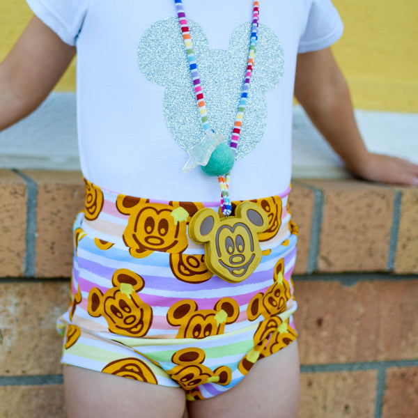 Waffle Mouse Shorts & Bummies