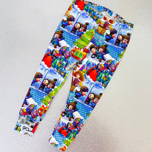 Christmas Story leggings