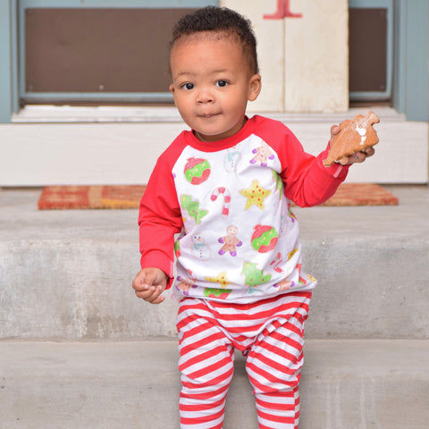 Christmas Cookies Raglan