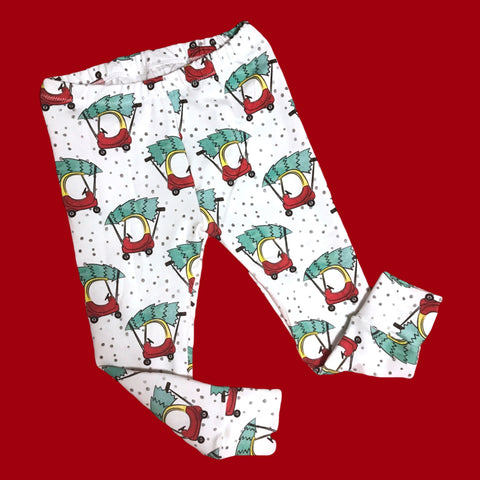 Classic Cozy Coupe Christmas Leggings