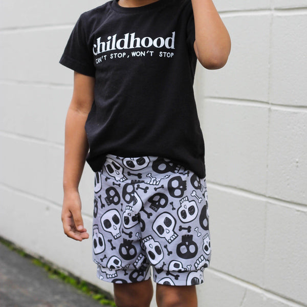 Bad to the bone Shorts & Bummies