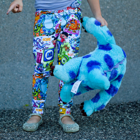 Monsters leggings