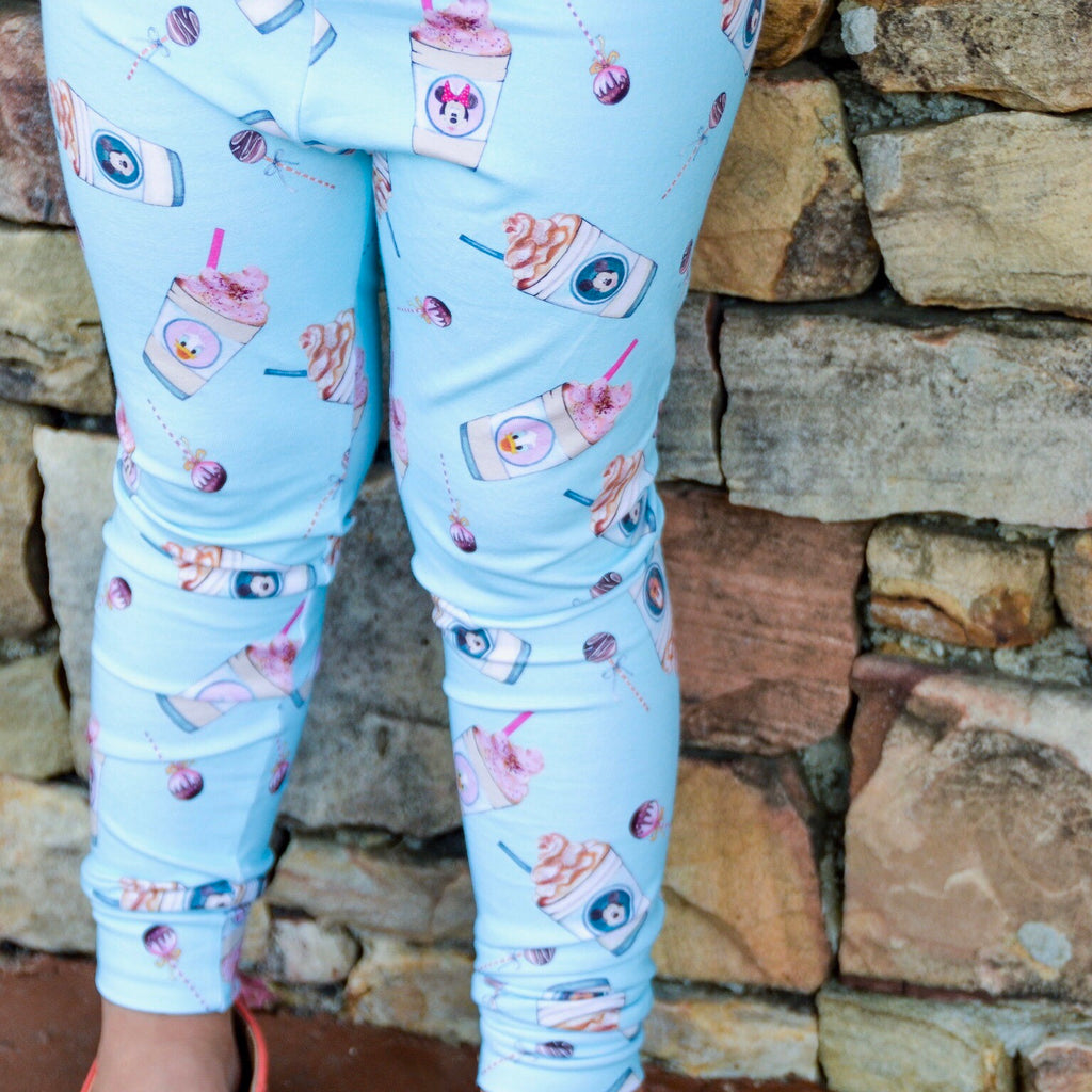 Magic Frappe leggings