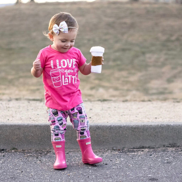 Latte love Leggings