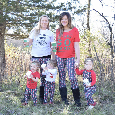 Peppermint Mocha Mama Leggings