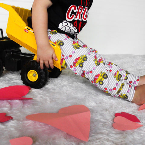 Dump Trucks of Love Leggings