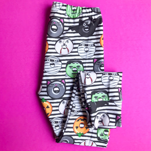 Haunted Donuts Leggings