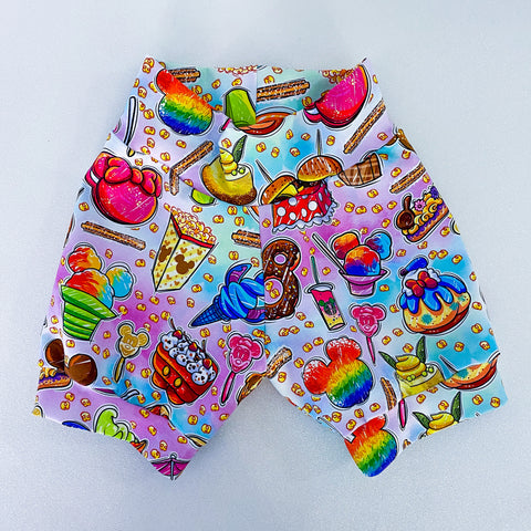 Rainbow Snack Shorts & Bummies