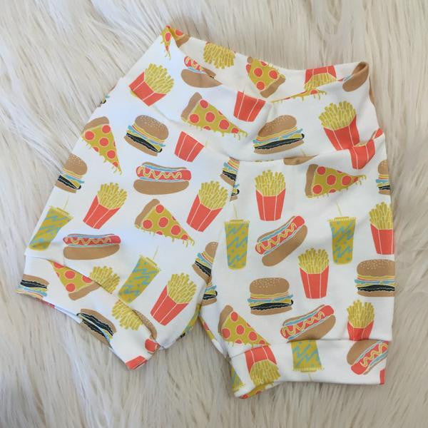 Junk Food Shorts & Bummies