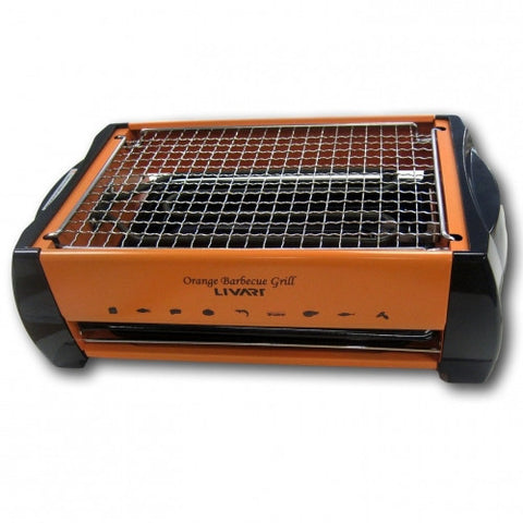 깔끔간편 BBQ그릴 Orange BBQ Electric Barbecue Grill LV-982