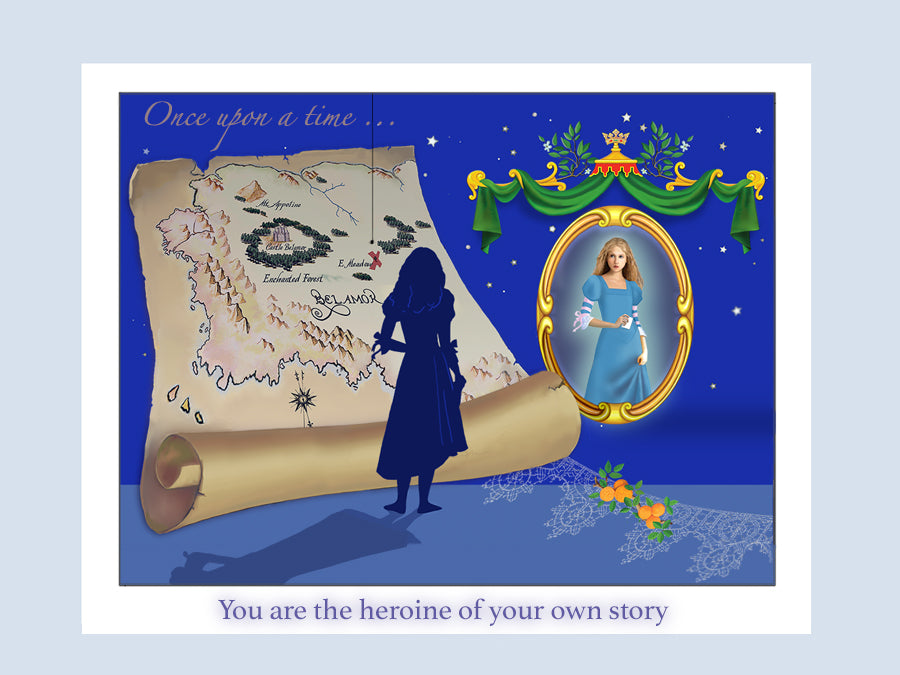 You are the heroine of your own story. Illustration by Marilyn Churchill