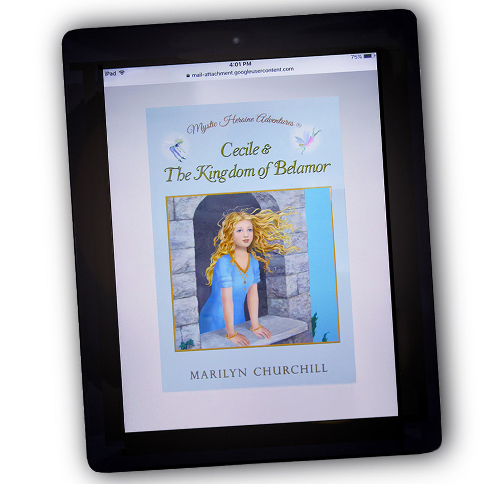 Cecile & The Kingdom of Belamor - PDF Digital eBook Download - 275 pages - 75 Illustrations