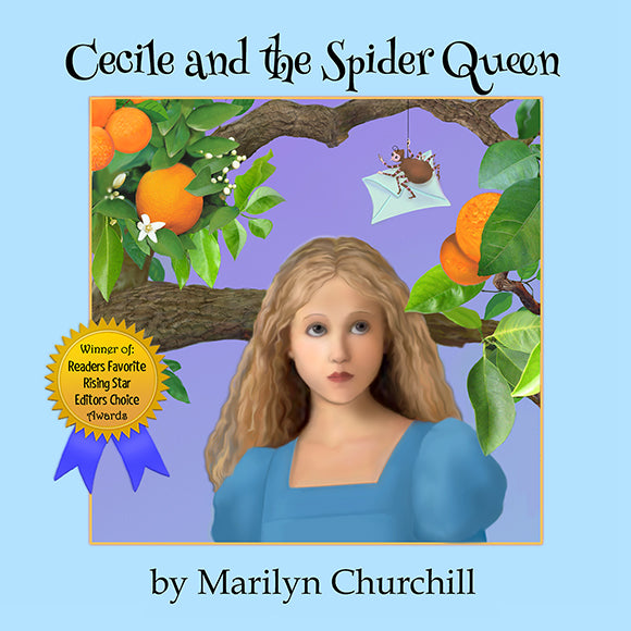 Cecile and The Spider Queen Audio Book