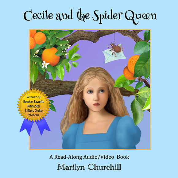 Cecile and The Spider Queen Read-Along  Video Book