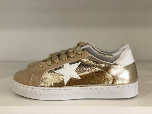Golden Star Sneaker - Shop Luxe Dolls