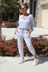 Gray Scale Jumpsuit