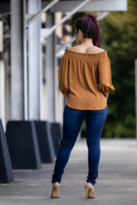 Laid Back Shoulder Top