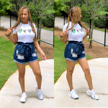 Load image into Gallery viewer, It's In The Bag Denim Shorts - Shop Luxe Dolls