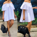 Baby Doll White Dress