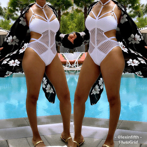 Mesh About You Swimsuit - Shop Luxe Dolls