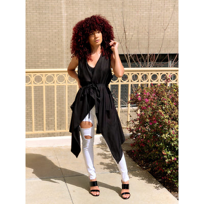 The Black Whisper Duster - Shop Luxe Dolls