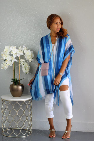 So Icy Blue Duster
