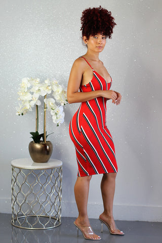 Winding Curves Dress