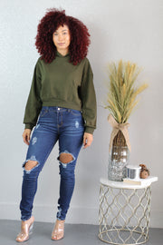 Green Machine Hoodie - Shop Luxe Dolls