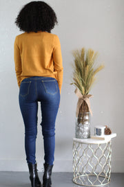 You Mustard Have Me Mistaken Cardigan - Shop Luxe Dolls