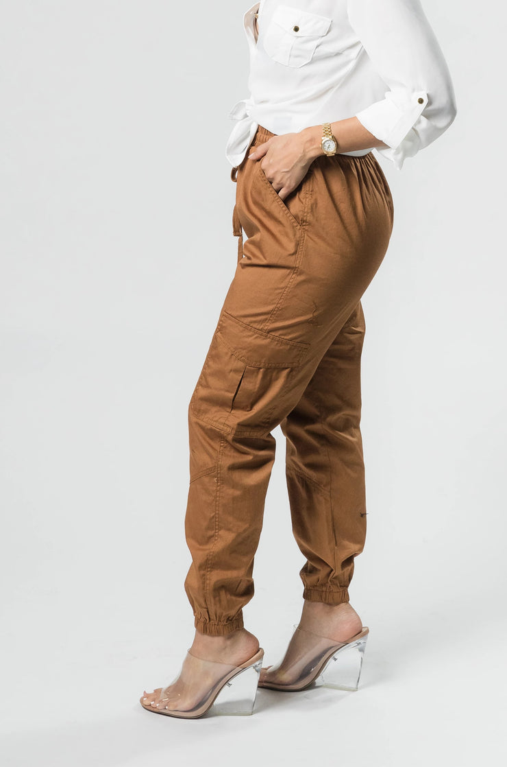Carry It Well Cargo Joggers - Shop Luxe Dolls