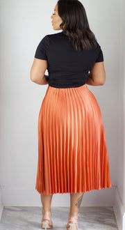 Get Pleated Or Beat It Skirt