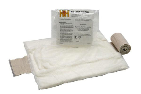 "Big Cinch: Abdominal Bandage 12"" x 16""- NSN: 6510-01-532-8930"