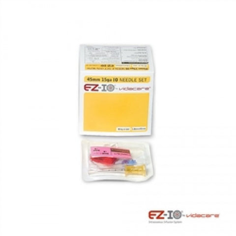 EZ-IO 45MM LD NEEDLE SET (BOX OF 5, YELLOW) - NSN: 6515-01-577-0312