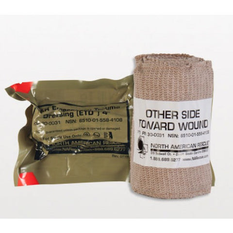 Emergency Trauma Dressing (ETD) - 4 in. - NSN 6510-01-558-4108