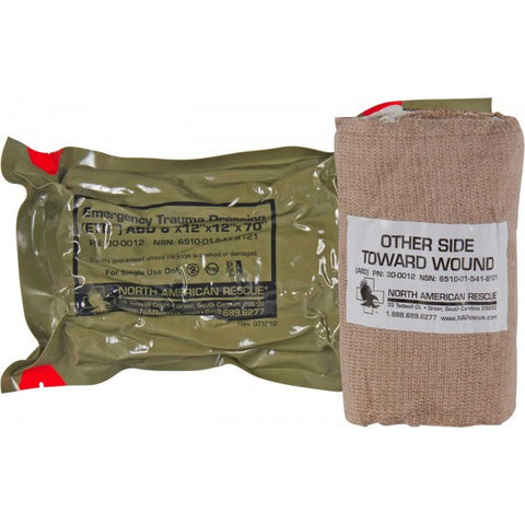 Emergency Trauma Dressing (ETD) - Abdominal/Stump - NSN 6510-01-541-8121