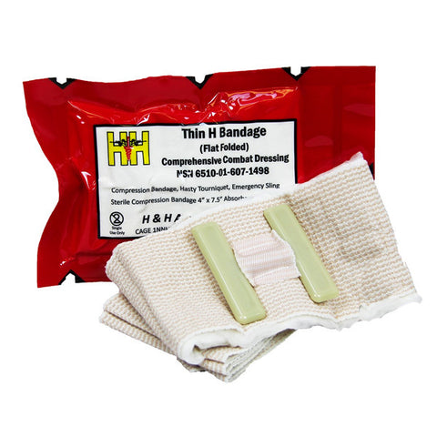 "Thin Cinch Bandage 4"" x 10"" - NSN: 6510-01-521-1308"