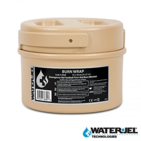 WATER-JEL® TACTICAL BURN WRAP 3'L x 2.5'W - Canister (Case of 4)