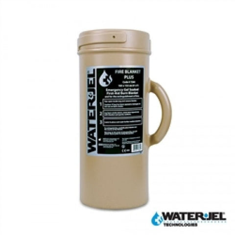 WATER-JEL® TACTICAL BURN BLANKET 6' L x 5' W - Canister (Case of 4) - NSN: 6510-01-576-6821