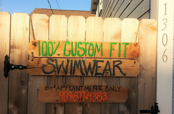 custom fit swimwear