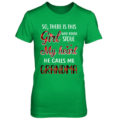 This Girl Who Kinda Stole My Heart He Calls Me Grandma T-Shirt & Hoodie | Teecentury.com