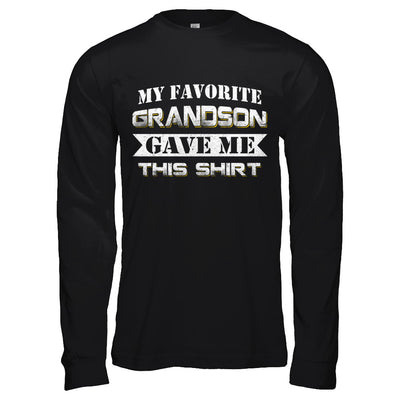 My Favorite Grandson Gave Me This T-Shirt & Hoodie | Teecentury.com