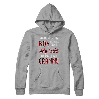This Boy Who Kinda Stole My Heart He Calls Me Grammy T-Shirt & Hoodie | Teecentury.com