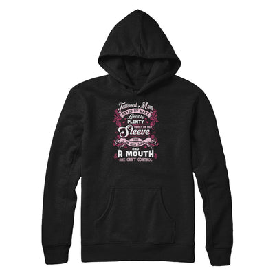 Tattooed Mom Hated By Many Loved By Plenty Heart On Her Sleeve T-Shirt & Tank Top | Teecentury.com