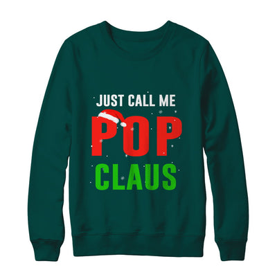 Santa Pop Claus Matching Family Christmas Pajamas T-Shirt & Sweatshirt | Teecentury.com