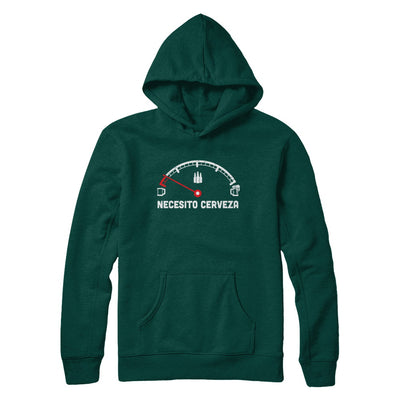 Funny Saying Cars Necesito Cerveza I Need Beer T-Shirt & Hoodie | Teecentury.com