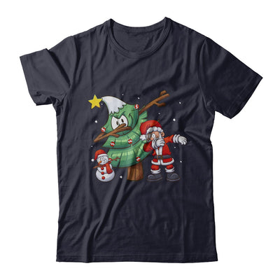 Dabbing Santa Through The Snow T-Shirt & Sweatshirt | Teecentury.com