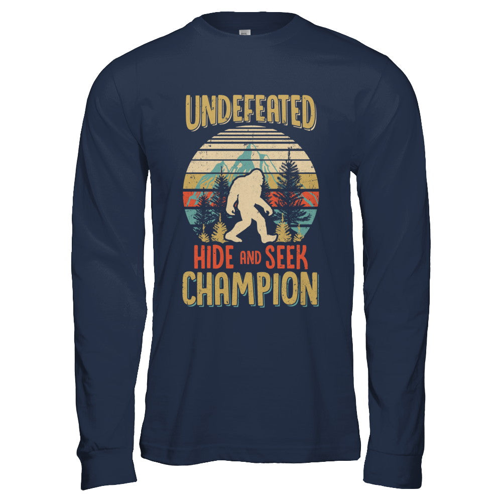 cef1e2cdc Vintage Bigfoot Undefeated Hide And Seek Champion Shirt & Hoodie ...