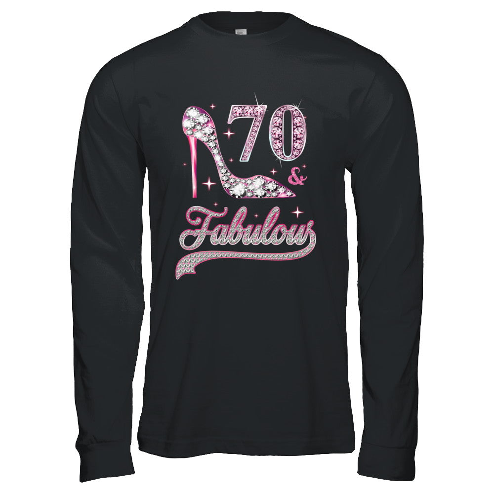Fab At 70: 70 And Fabulous 70 Years Old 1949 70th Birthday Gift Shirt