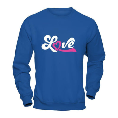 Love Pink Awareness Ribbon T-Shirt & Hoodie | Teecentury.com